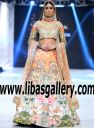 Nomi Ansari Digital floral Print Bridal Lehenga Dresses Bollywood Style Wedding Lenghas Portsmouth Virginia VA US