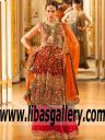 Umsha by Uzma Babar Bridal | Luxury designer wedding dresses | Tacoma Washington USA PFW 11 Lehenga Collection