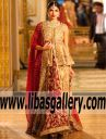 Peplum Bridal Suits by Umsha by Uzma Babar 2017 Huntington New York NY USA, Amazing Bridal Shararas 2017 NY USA Bridal Wear