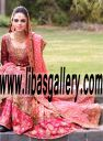 Fantastic Designer Bunto Kazmi Latest Bridal Wear Pakistani Bridal Wear Bridal Lehenga Dresses in Kalamazoo Michigan USA