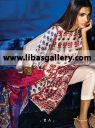 Luxury Pakistani Designer Silk Cotton Lawn Suits by Silk & Lawn Genius Sana Safinaz Silk Collection 2014 in Retail and Wholesale Prices. Sana Safinaz Luxury Pakistani Designer Silk Cotton Lawn Suits for High-Fashion Party Wear for all Formal Events