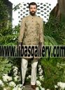 Pakistan�s leading luxury designer couture bridal Groom Sherwani Suits collection in 2016 2017 UAE Dubai