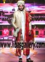 Golden Embellished Sherwani 2017 in Jamawar Banarsi fabric highest quality Aone grade material for work Complete set with turban khussa and churidar karachi,lahore Pakistan